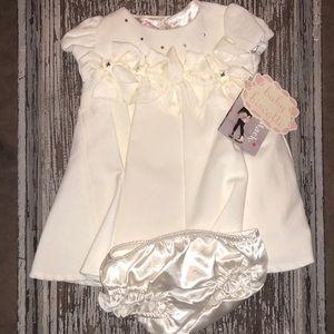 🍼🍼🍼 Baby Biscotti Dress